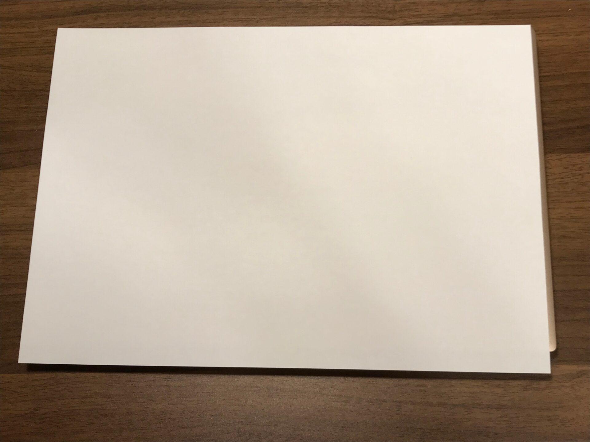 Dell New XPSとA4用紙